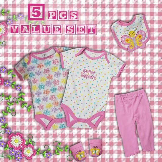 5 Piece Baby Value Set Design 3