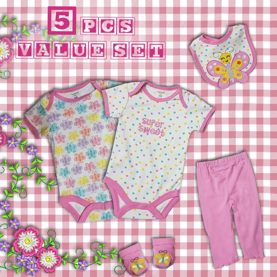 5 Piece Baby Value Set Design 3