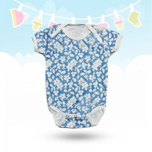 Pack of 3 Baby Rompers Design 1