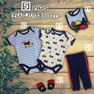 5 Piece Baby Value Set