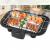 2000 Watt Electric Bar BQ Grill with Adjustable Temperature