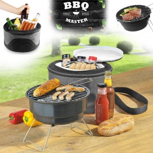 BBQ GRILL & COOLER BAG COMBO