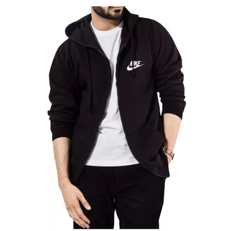 Elegant Full Sleeves Zipper Hoodie
