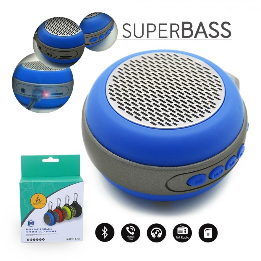 S303 Bluetooth Outdoor Travel Mini Portable Speakers