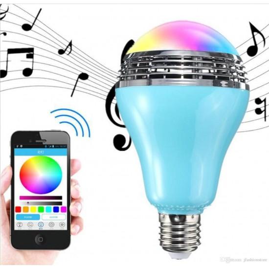 Magic Wireless Bluetooth Bulb & Speaker