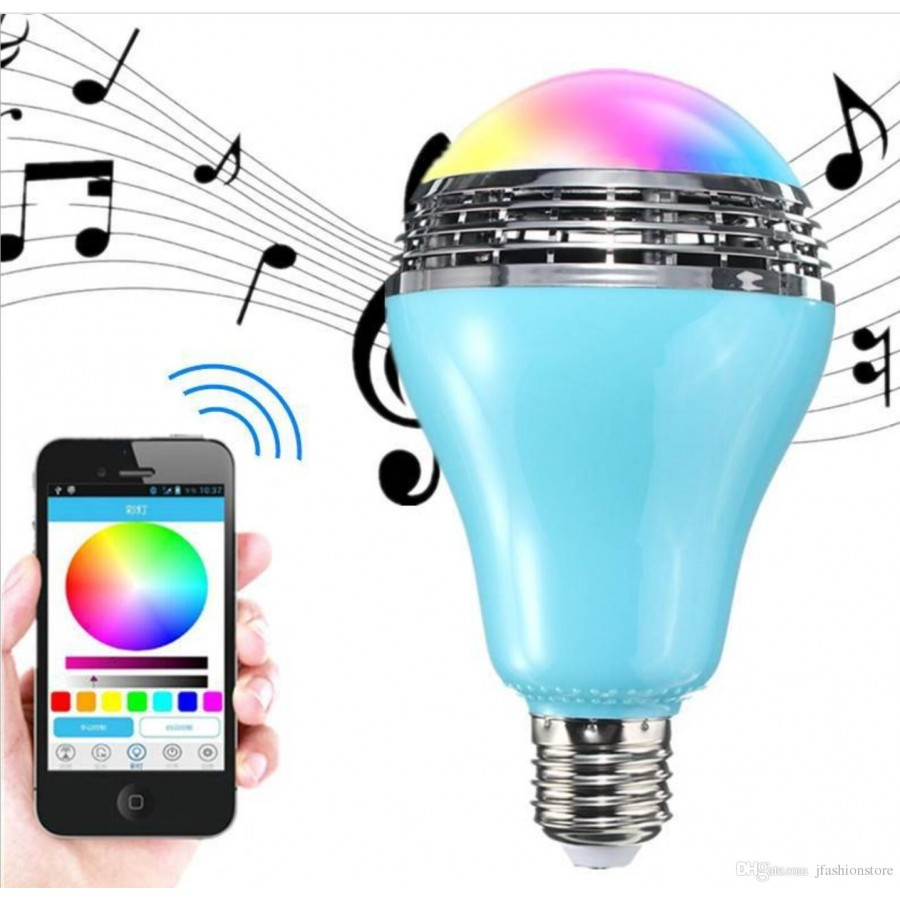 Magic Wireless Bluetooth Bulb & Speaker