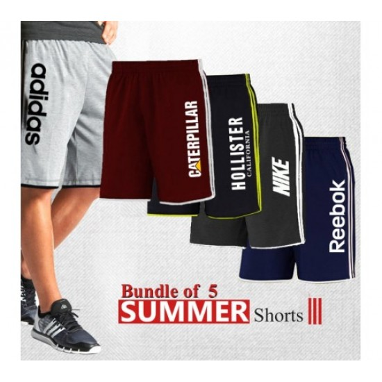BUNDLE OF 5 SUMMER SHORTS