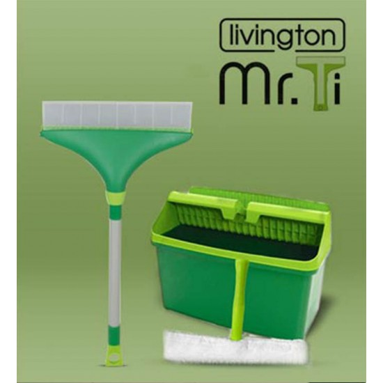 MR.TI Magnetic Window Glass Cleaning Kit