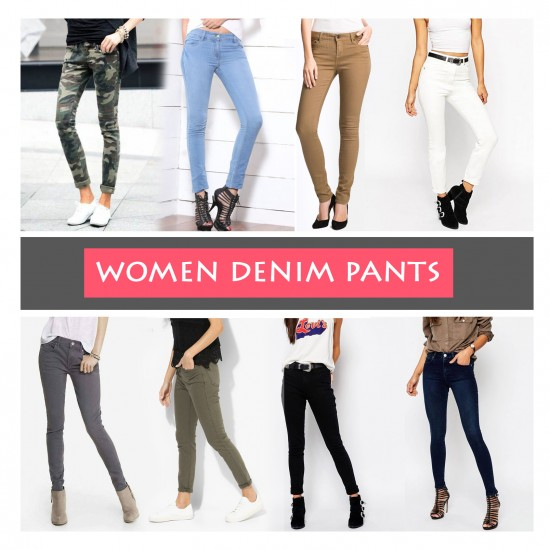 Women Denim Pants