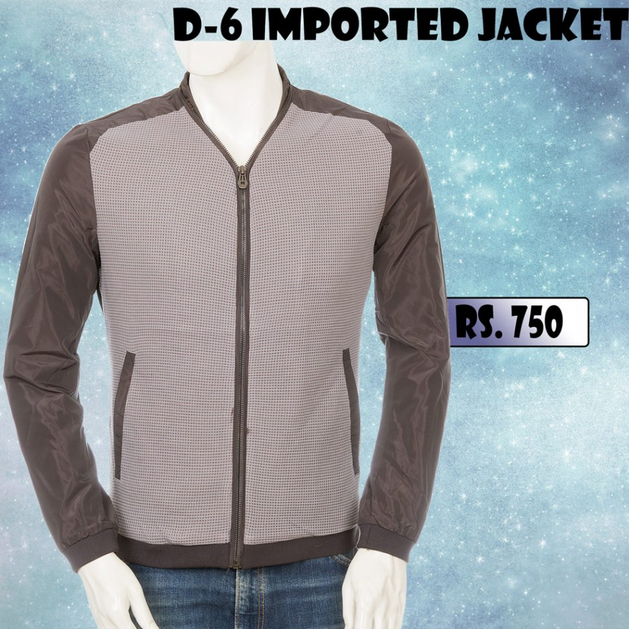 D-6 Dotted Front Imported Jacket for Winter