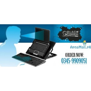 Super Silent and High Performance Notebook Cooler Ergo Stand