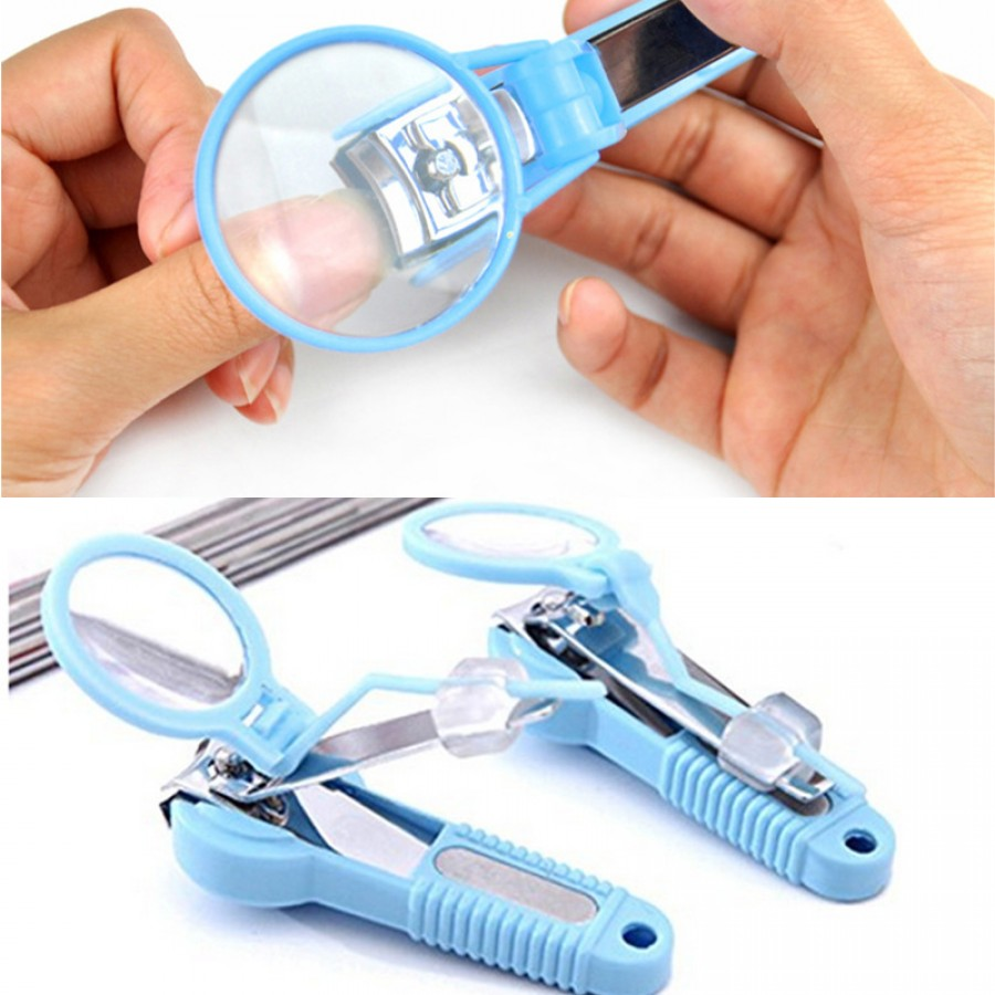 Nail Clippers & Pliers with Magnifying Glass