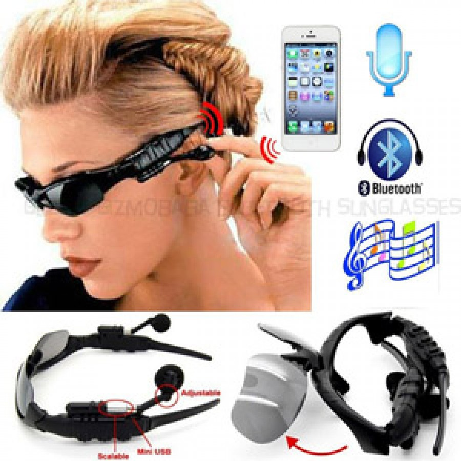 Bluetooth Headphones Sunglasses