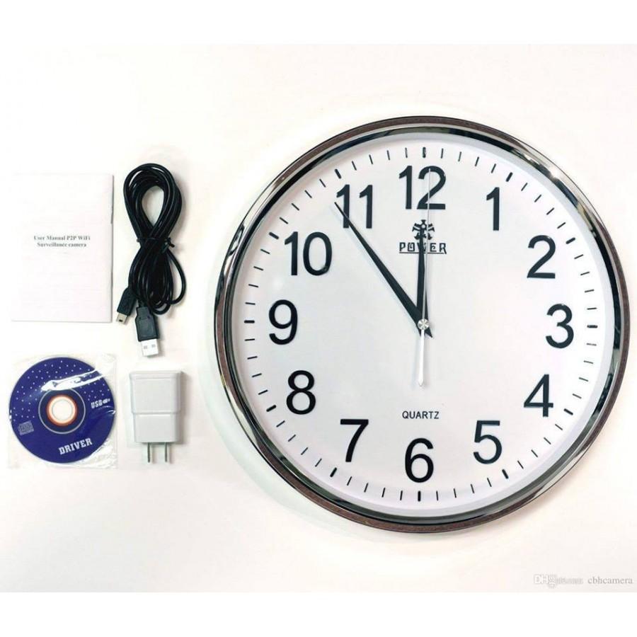 Wifi Spy Wall clock Wireless Hidden HD Video Recording Camera