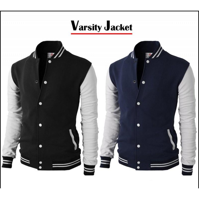 Elegant BaseBall Style Jacket