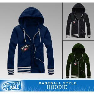 Base Ball Style Hoodie (Winter Sale)
