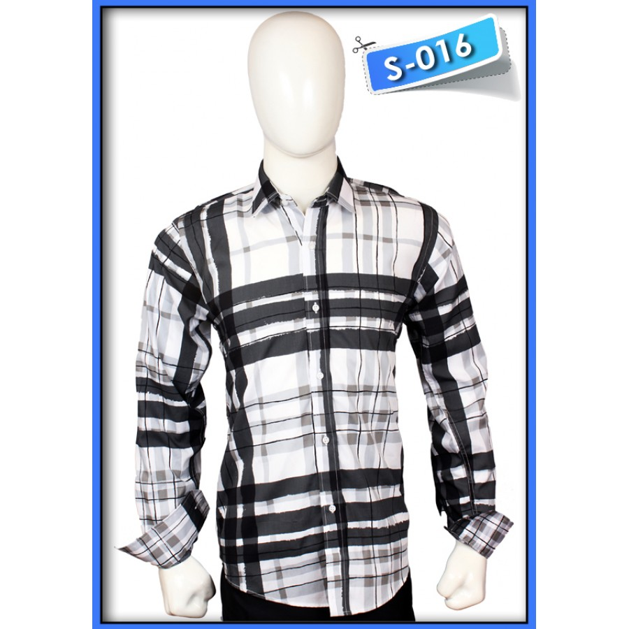 S&J Blackwhite Check Shirt