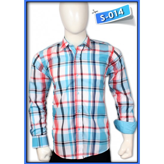 S&J Blue Check Shirt