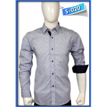 S&J Blue Dot Shirt