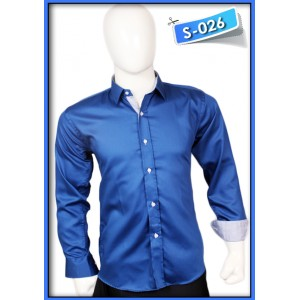 S&J Blue Shine Shirt