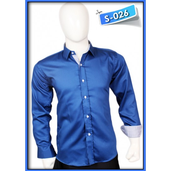 S&J Blue Shine Shirt