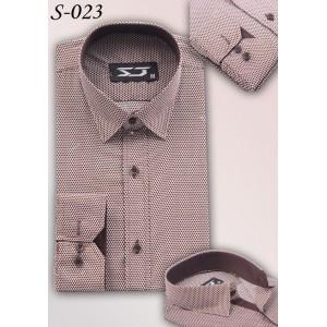 S&J Brown Dots Shirt