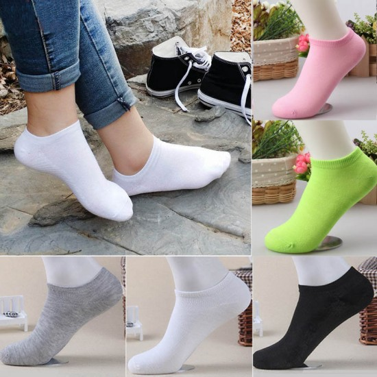 Ladies Ankle Warm Winter Cotton Socks (12 Pack)