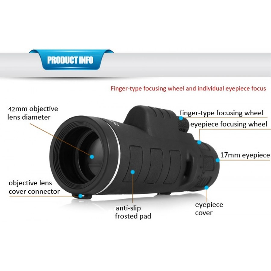Super High Power Range 40X60 Rs.1899 Day & Night Vision HD Camera Zooming Binoculars & Lens