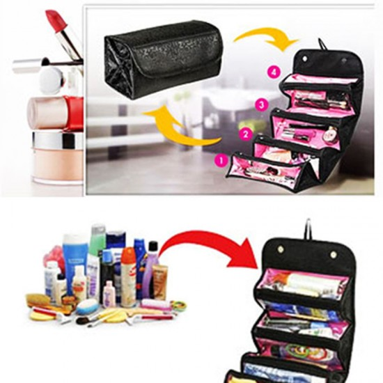 YOUR TRAVEL BUDDY! Cosmetic Bag By Roll-N-Go