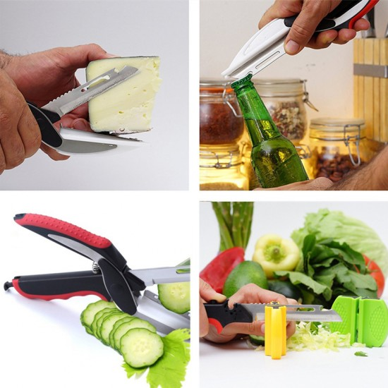 Smart Cutter 6 In 1 Knife & Cutting Board