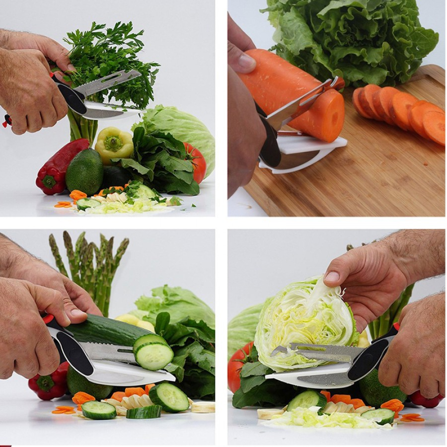 Smart Cutter 6 In 1 Knife & Cutting Board
