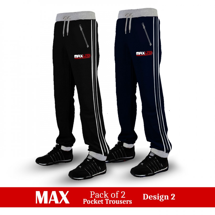 Pack of 2 Max Pocket Trousers Design 2