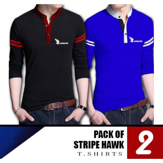 Pack of 2 Stripe Hawk T Shirts