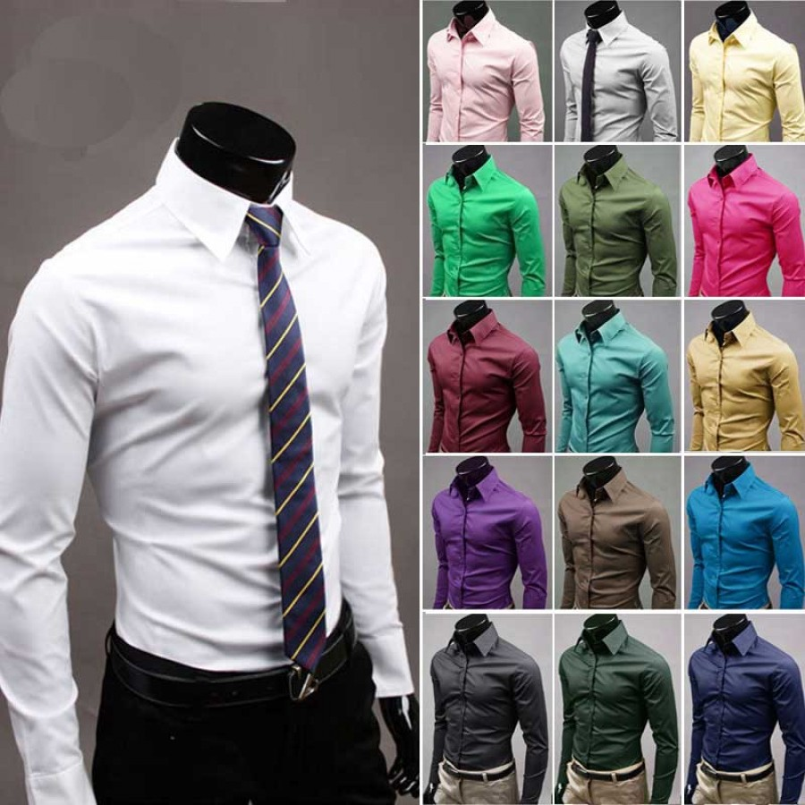 Pack of 2 Mens Formal Shirts