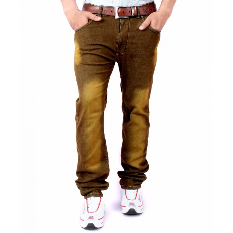 Pack of 3 Stretchable Shaded Denim Jeans - Azaadi Offer