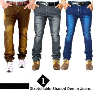 1 Stretchable Denim Jeans