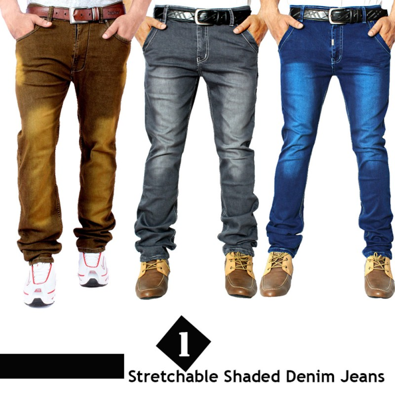1 Stretchable Denim Jeans