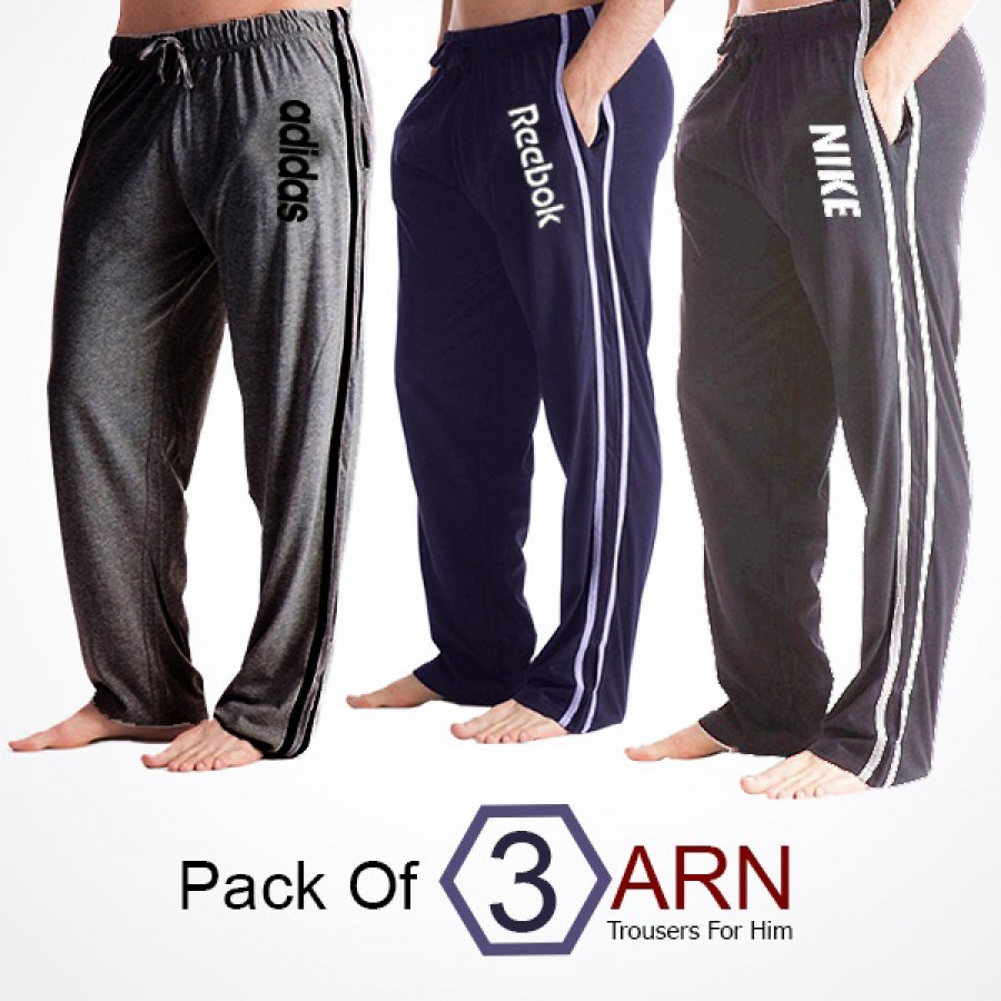 Pack Of 3 ARN Trousers For Him (NEW) - Azaadi OFFER