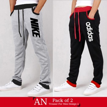 Pack of 2 AN Trouser for Men