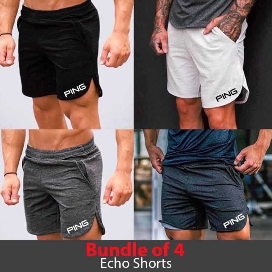 Bundle of 4 Echo Shorts