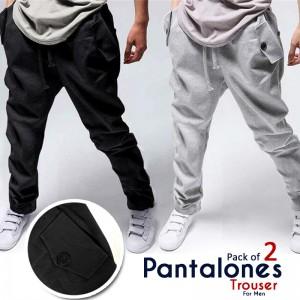 Pack of 2 Pantalones Trouser For Men