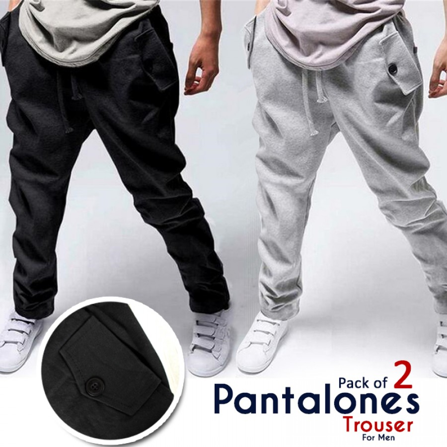 Pack of 2 Pantalones Trouser For Men