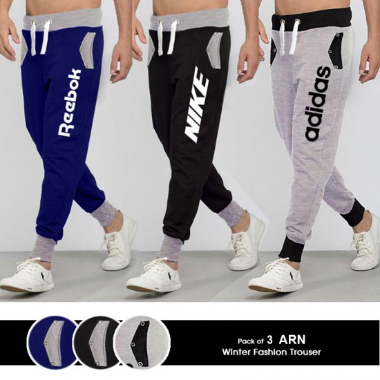 Pack of 3 ARN Winter Fashion Trouser
