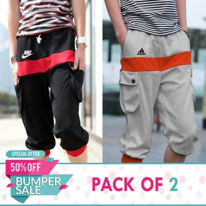 Pack of 2 Branded Preppy style shorts