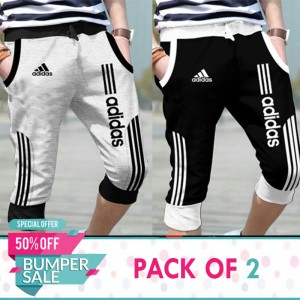 Pack of 2 Casual style strap shorts