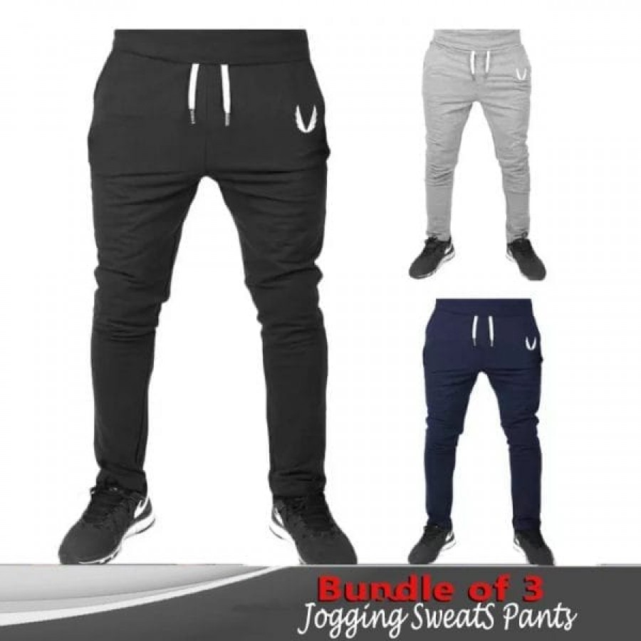 Bundle of 3 Jogging Sweats pants