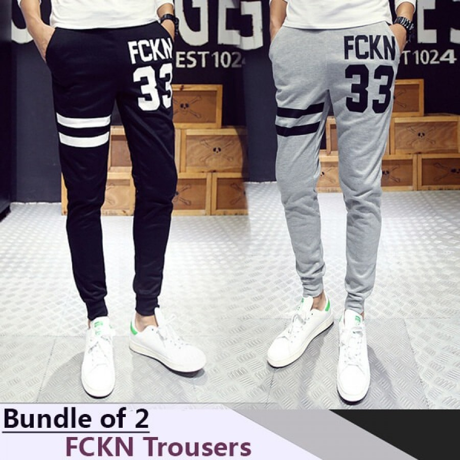 Bundle of 2 FCKN Trousers