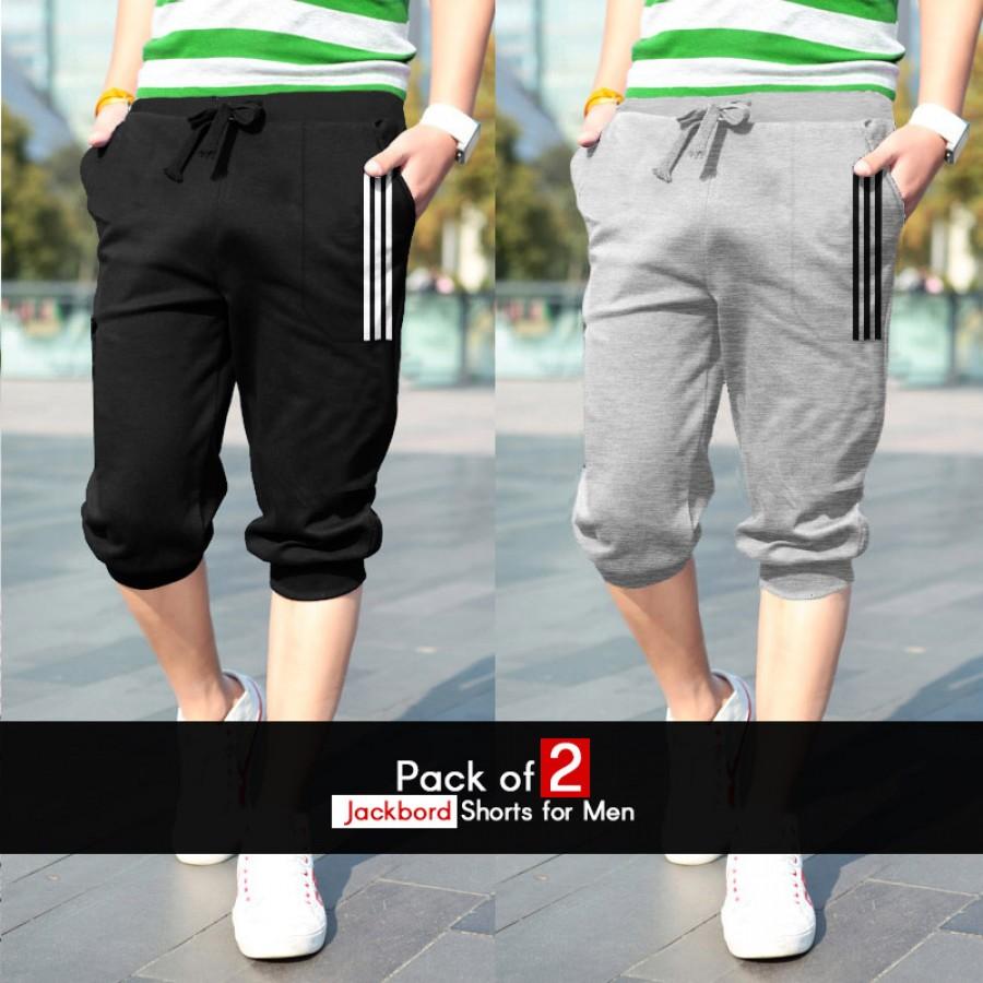 Pack of 2 Jackbord Shorts for Men