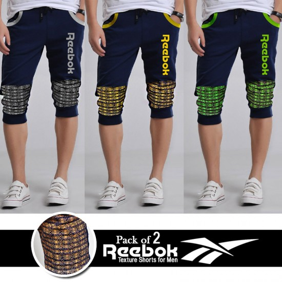 Pack of 2 RK Texture Shorts for Men