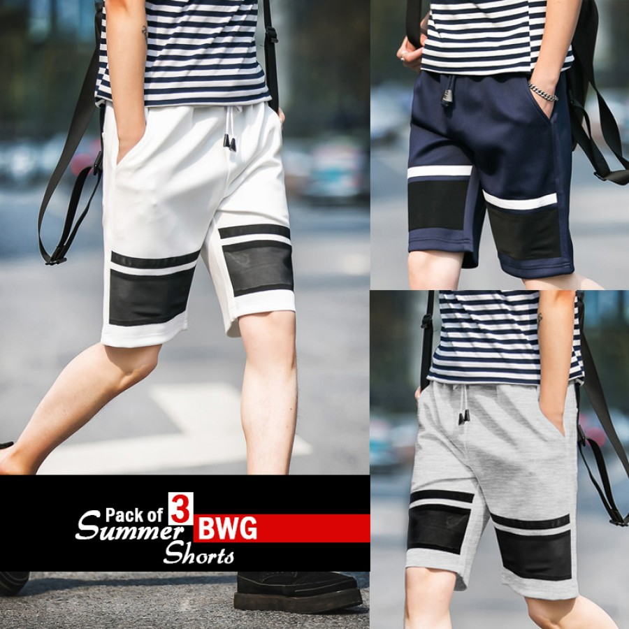 Pack of 3 Summer BWG Shorts